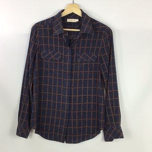Tory Burch Silk Buckle Print Blouse 2